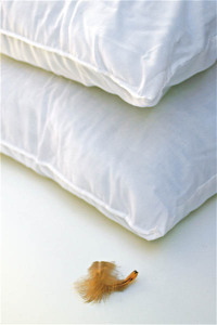 We clean and renovate feather pillows to bring them back to life