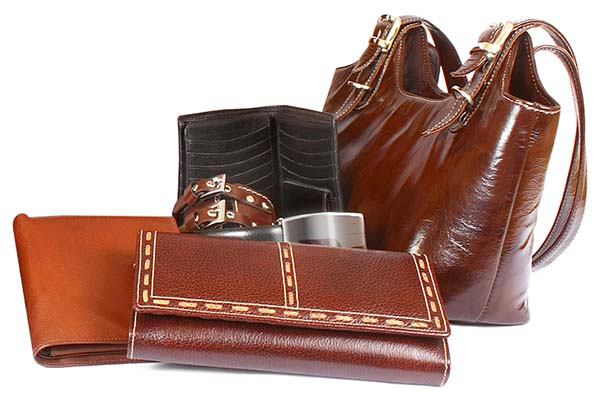 Leather Accessories can be cleaned and restored
