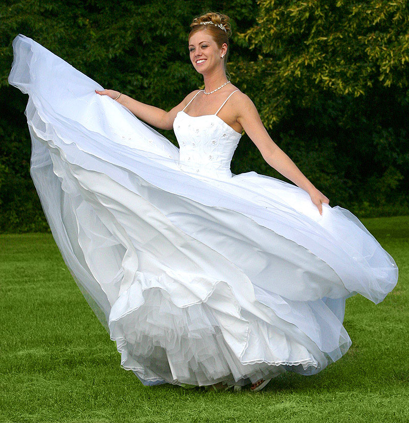 Wedding gowns require special cleaning service