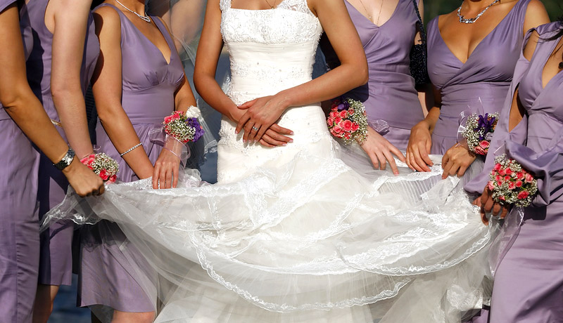 Cleaning your wedding dress is easy from anywhere in the USA