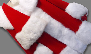 One of our specialties is cleaning Santa Suits