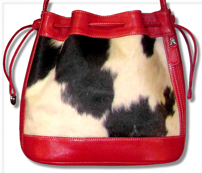 Animal skins mixed with dyed leathers are particularly challenging to clean