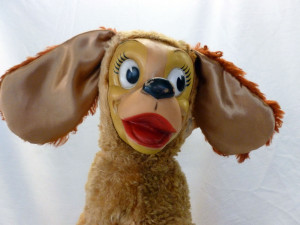 Restored Vintage Stuffed Animal
