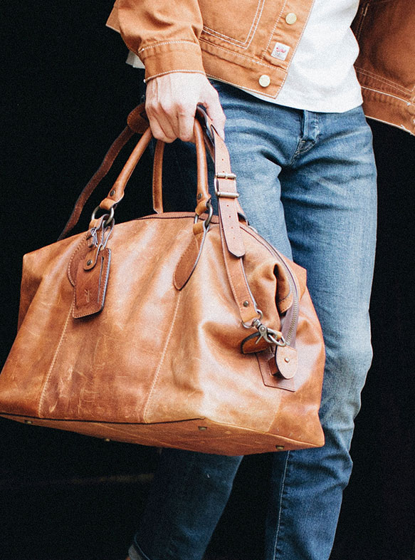 Leather Tote Bag Cleaning by Ram Leather Care