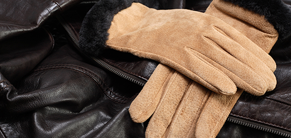 Suede Glove Cleaning by Ram Leather Care