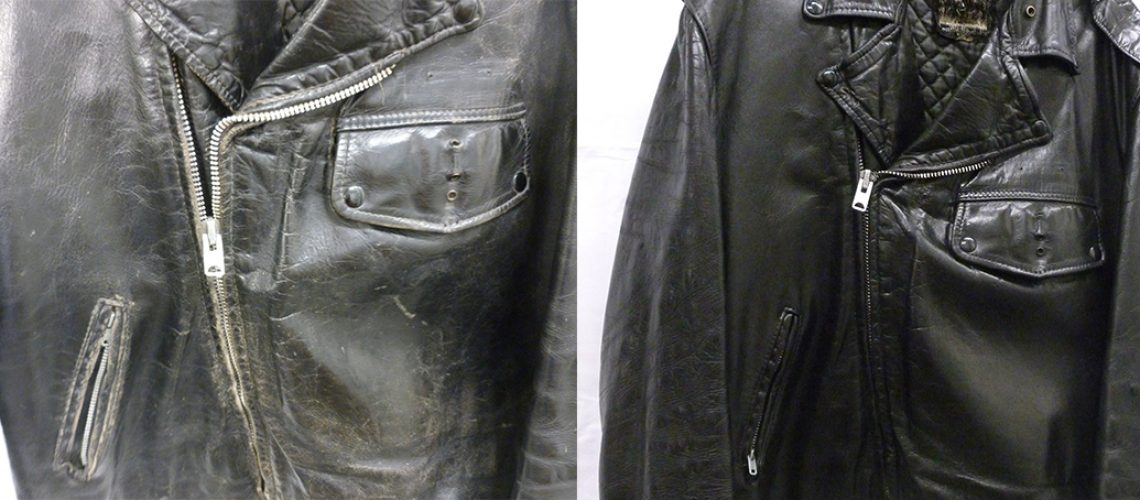 Motorcycle Jacket Before and After